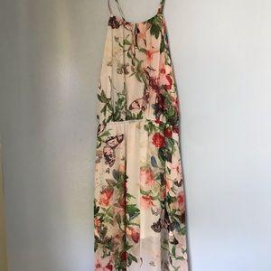 Maxi flora dress